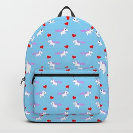 Heart Horn Unicorn Backpack