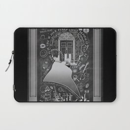 What is it Like in Your Funny Little Brains? Laptop Sleeve