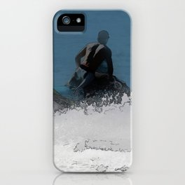 Ready to Make Waves - Jet Skier iPhone Case