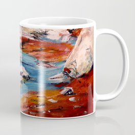 Forrest Moses Interpretation New Mexico acrylics on canvas board Coffee Mug