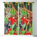 Wild Animals Jungle Pattern by misterpattern