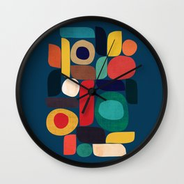 Miles and miles Wall Clock