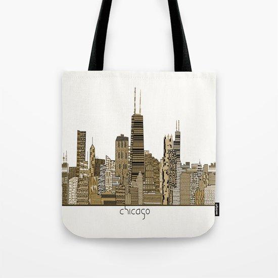 chicago vintage Tote Bag