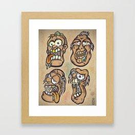 FOURHEADS ARE BETTER THAN ONE Framed Art Print