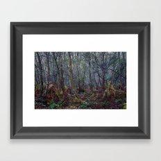 Woodland Maze 1 Framed Art Print