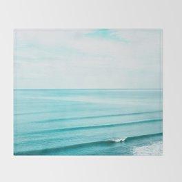 Minimal Beach Throw Blanket