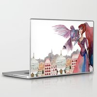 guardians Laptop & iPad Skins featuring Guardians by Ghie