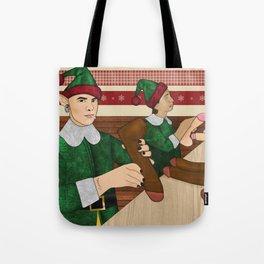 The Naughty List Tote Bag