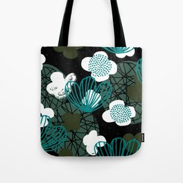Kokedama Garden M+M Greens by Friztin Tote Bag