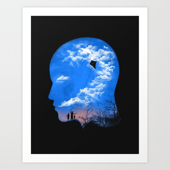 Pulling Out Some Thoughts Art Print