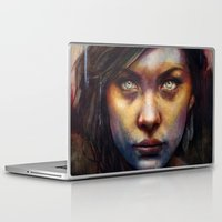 political Laptop & iPad Skins featuring Una by Michael Shapcott