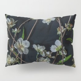 White Flowers Pillow Sham