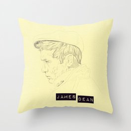 James II Throw Pillow