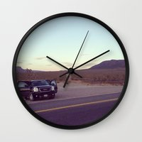 arizona Wall Clocks featuring Arizona by Rhys Owain Williams