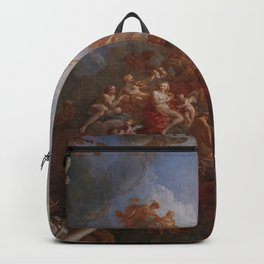The Apotheosis of Hercules by Francois Le Moyne. Backpack