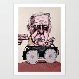 Philip Guston Art Print