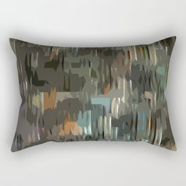 Almost Camouflage Rectangular Pillow
