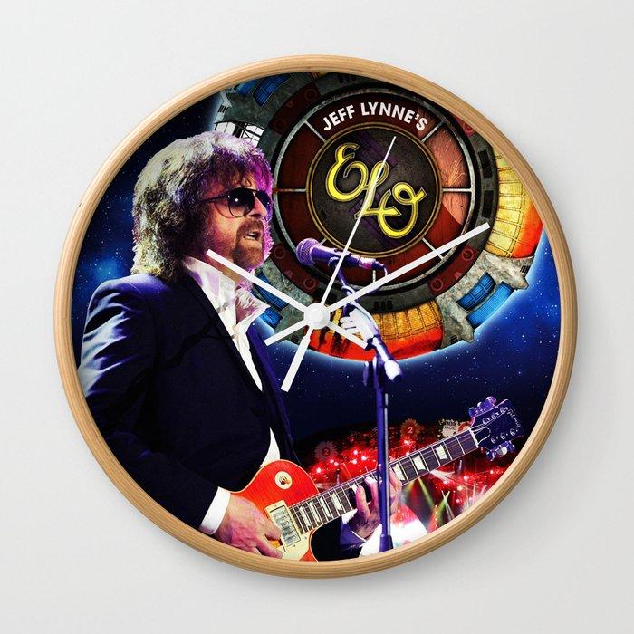 Elo Tour Dates 2020 jeff lynne elo live tour 2019 2020 udahbaun Wall Clock by sussa