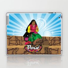 Paisana in Titicaca Lake, Puno, Perú Laptop & iPad Skin