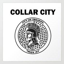 Collar City Art Print