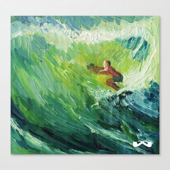 Costa Rica Surf. Canvas Print