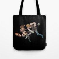 durarara Tote Bags featuring Shizuo and Izaya 2 by Prince Of Darkness
