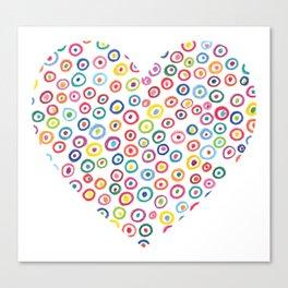 Heart 25 Canvas Print