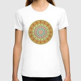 Pastel Jellybean Mandala T-shirt