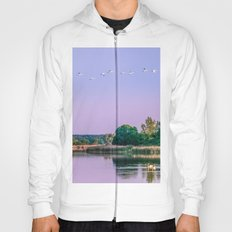 Swans are flying Hoody