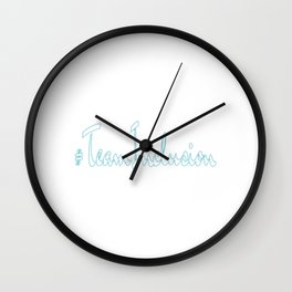 Great for all occassions Inclusion Tee Got logical Inclusion Wall Clock