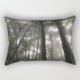 Tropical Jungle - Palm Trees Rectangular Pillow