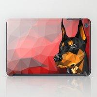 doberman iPad Cases featuring Doberman by Ruveyda & Emre