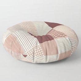 Rustic Tiles 03 Floor Pillow