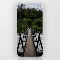 bridge iPhone & iPod Skins featuring Bridge by Michelle McConnell