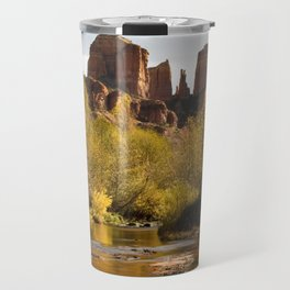 Red Rock Reflections Travel Mug