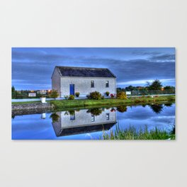 Ticket House on The Royal Canal Canvas Print