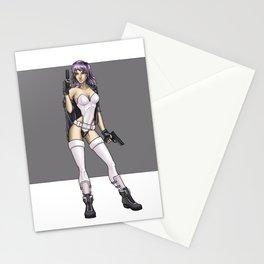 major Motoko Kusanagi Stationery Cards