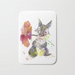 Thumper With Flower Bath Mat
