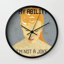 I'm not a Joke Wall Clock