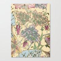 tiffany Canvas Prints featuring tiffany garden by Ariadne