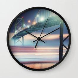 Underneath The Bridge Wall Clock