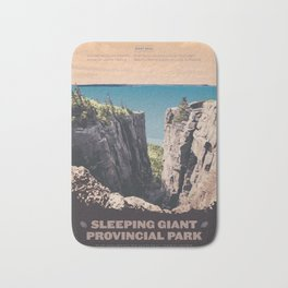 Sleeping Giant Provincial Park Bath Mat
