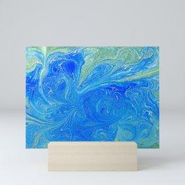 Blue & Green Mini Art Print