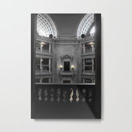 Beauty in a Building Metal Print