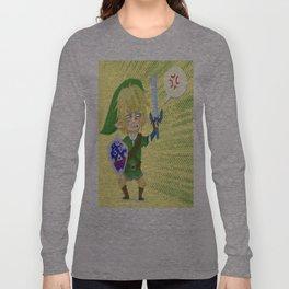 Zelda- Hyrule fool Long Sleeve T-shirt