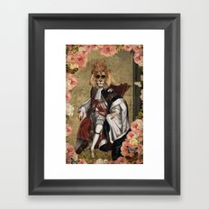Animal Collection -- The King Framed Art Print