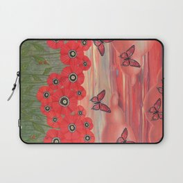 poppy garden dreams Laptop Sleeve