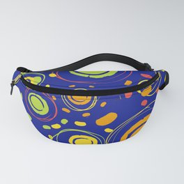 Patio lanterns Navy Fanny Pack