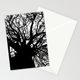 Tree Silhouette Stationery Cards