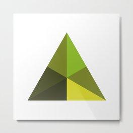#126 Pyramid – Geometry Daily Metal Print